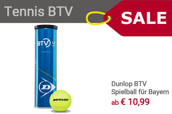 Dunlop Tennis BTV Spielball ab April